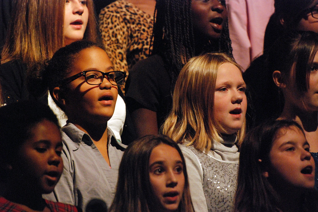 Description of . Kayla Rice/Reformer Students from Kurn Hattin School's select choir perform