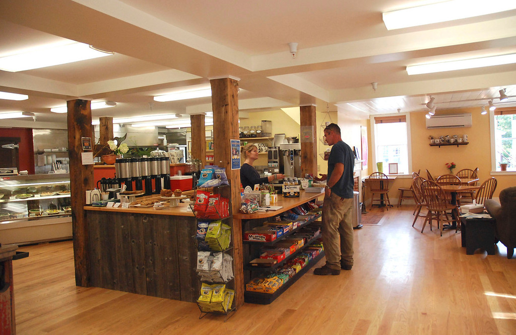 . Kayla Rice/Reformer                                John Parker of Guilford does some shopping at the Guilford Country Store.