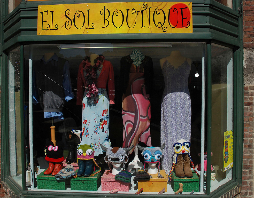 . Kayla Rice/Reformer El Sol Boutique on Main St. in Brattleboro.
