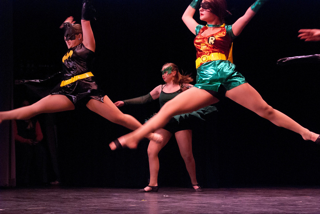 . Kayla Rice/Reformer Kelly\'s Dance Academy performs at the Winter Carnival variety show on Tuesday evening.